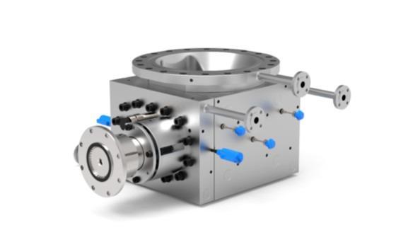Melt pump - POLY-AT - Melt pump for polymer production