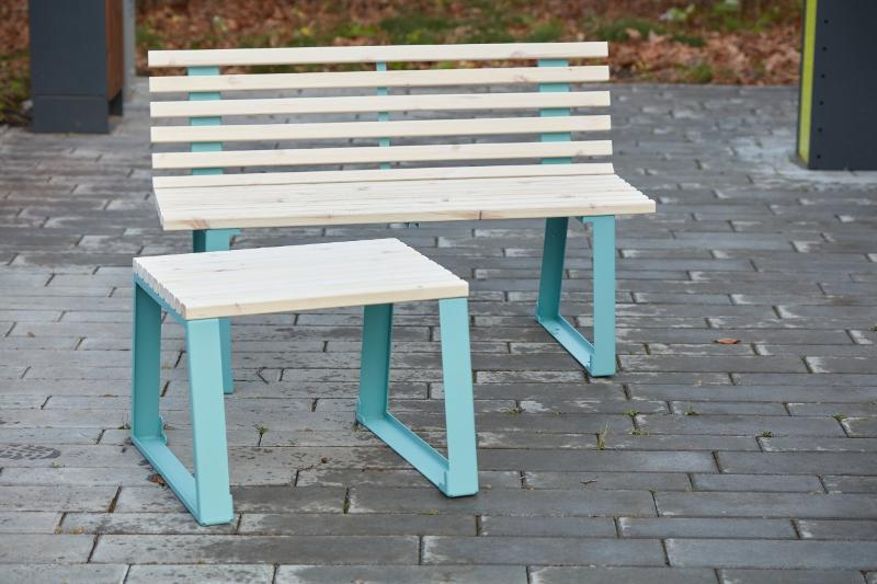 Table «Summer» - Benches and sun loungers