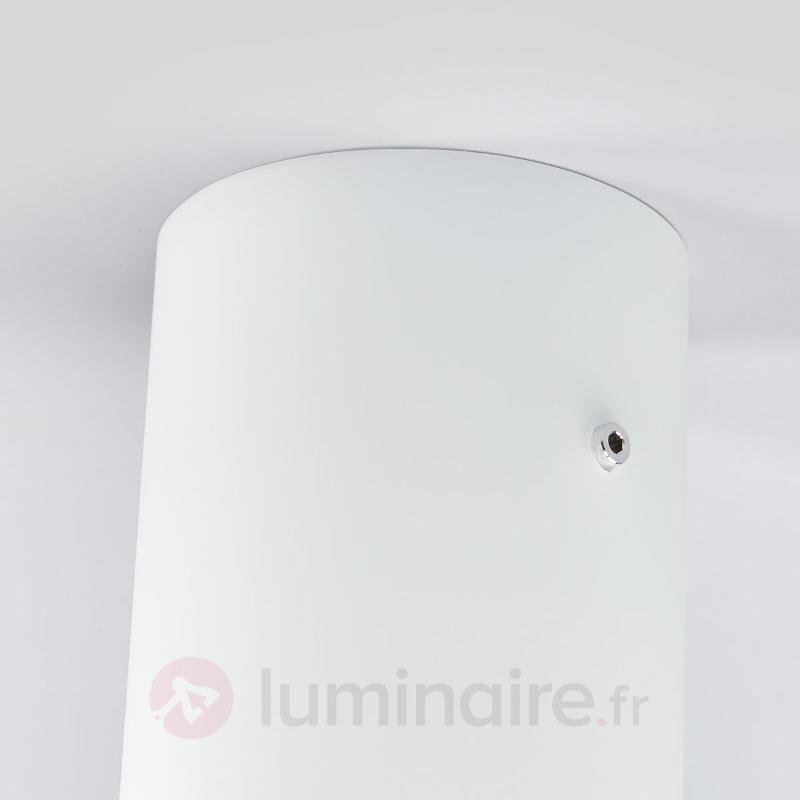 Plafonnier rond TUBE - Plafonniers en verre