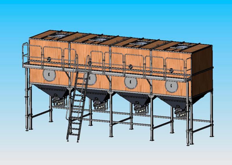 Storage system BPH 7 - PROCESSING EQUIPMENT FOR THE PASTA INDUSTRY