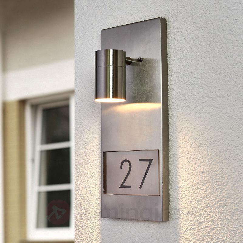 Joli numéro de maison lumineux Moderna 7655 - Numéros de maison lumineux