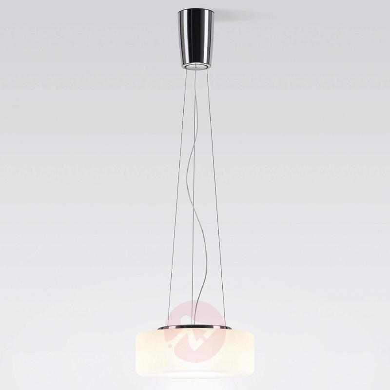 Opal LED hanging light Curling S - design-hotel-lighting