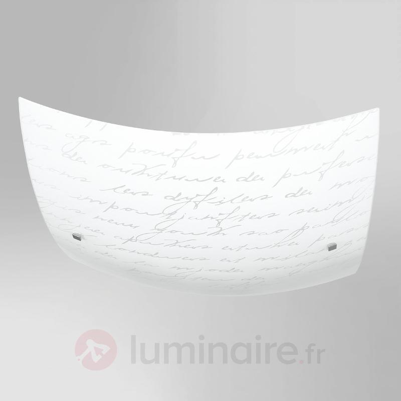 Arielo - plafonnier esthétique - Plafonniers en verre