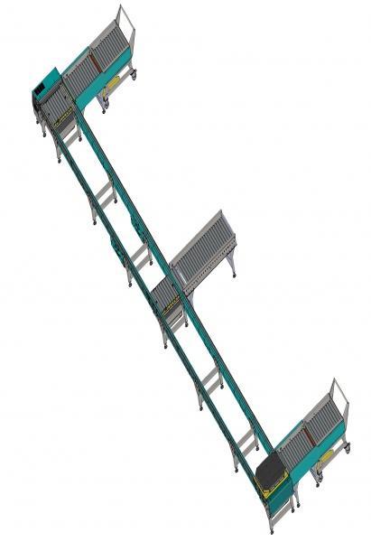 Convoyeurs à rouleaux ou à chaîne