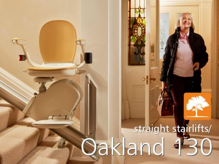 Oakland 130 Stairlift - Straight Stairlifts