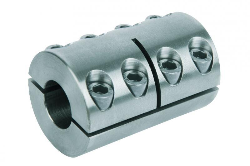 Rigid couplings one-piece or two-piece - Rigid couplings one-piece or two-piece. Steel 1.0718. Stainless steel 1.4305.