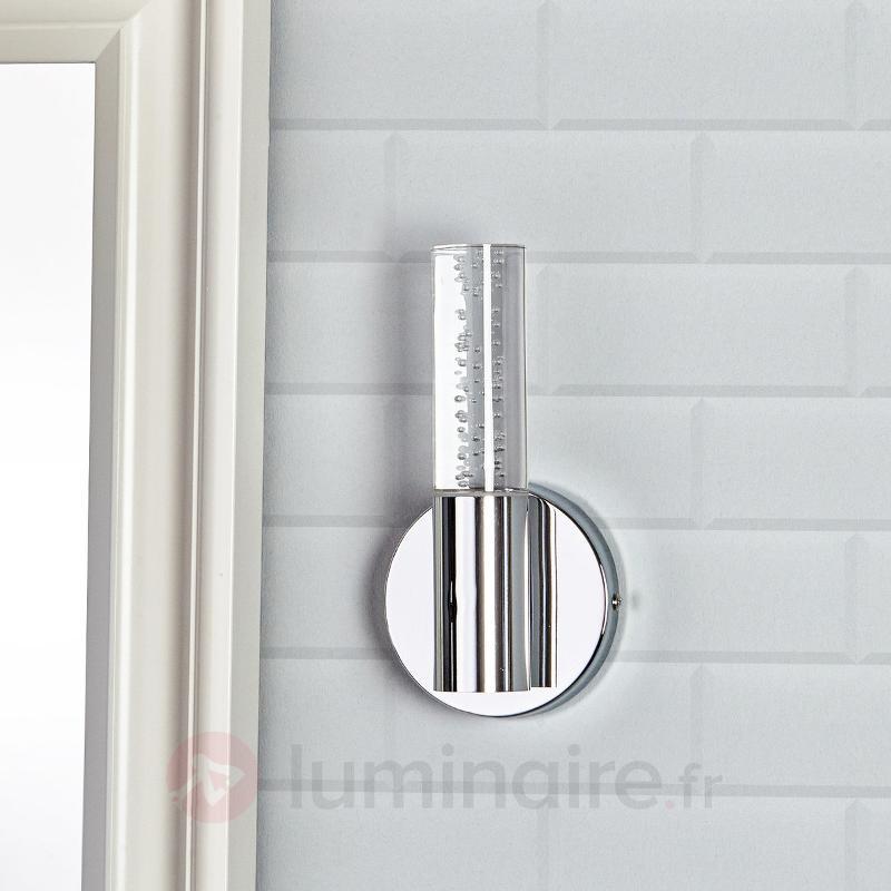 Applique salle de bains décorative Duncan avec LED - Salle de bains et miroirs