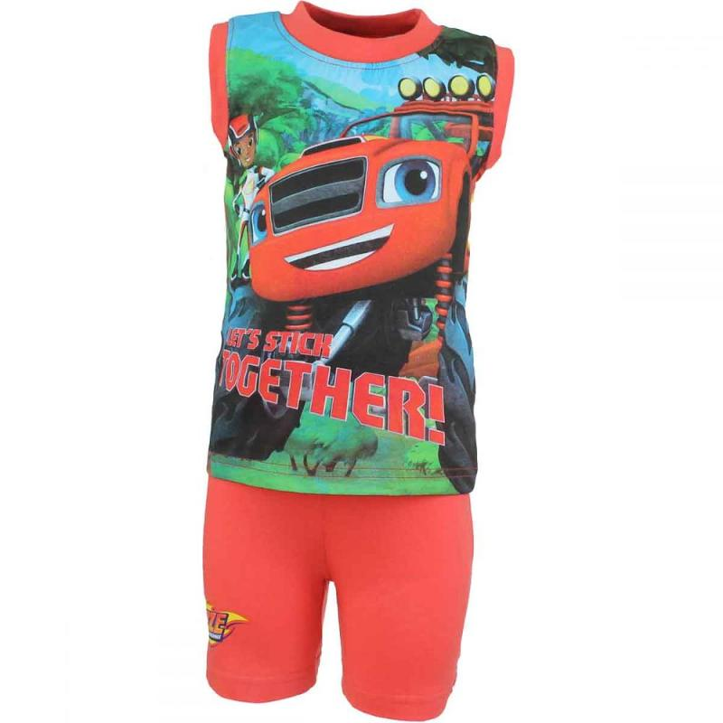 10x Ensembles 2 pieces Blaze Car du 2 au 6 ans - Ensemble