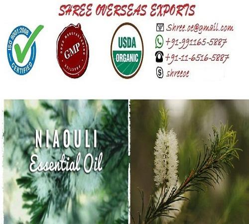 Organic Niaouli Oil - USDA Organic