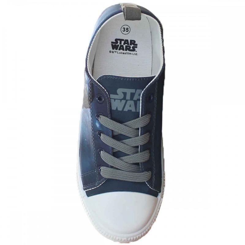 8x Baskets basses avec boites Star Wars du 29 au 36 - Chaussures
