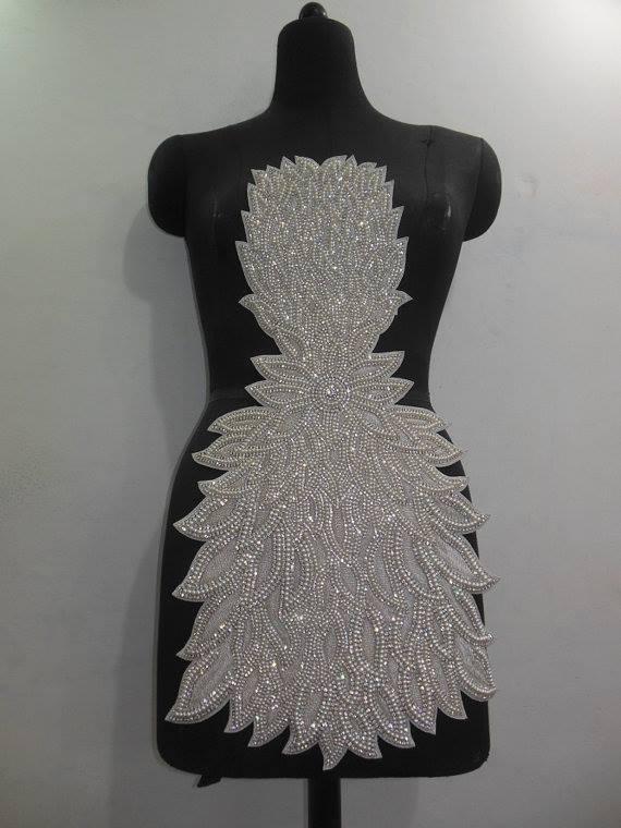 Broderies pour robe de mariée  -