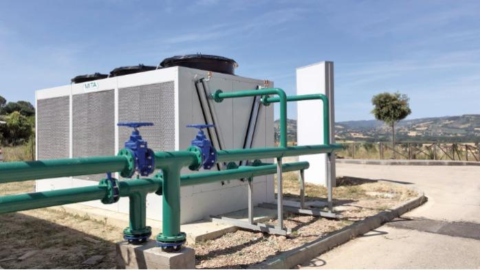 PAD-V Dry Cooler Adiabatico - per raffreddare liquidi e condensare gas