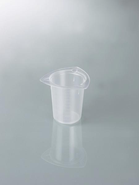 Universal graduated beakers - Laboratory equipment, measuring Devices, plastic beaker, PP, transparent