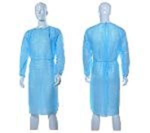 Robes d'isolement spp jetables / blouses d'hôpital