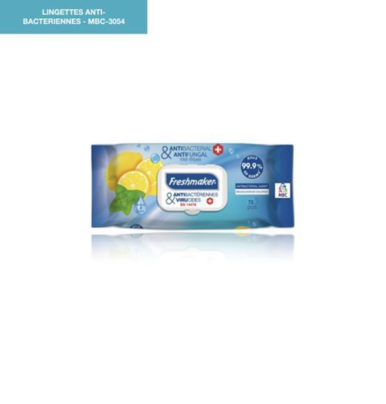 Lingettes Anti-Bacteriennes - Produits Médicaux
