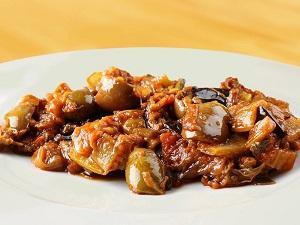 Caponata alla siciliana con peperoni - Prodotto artigianale senza conservanti