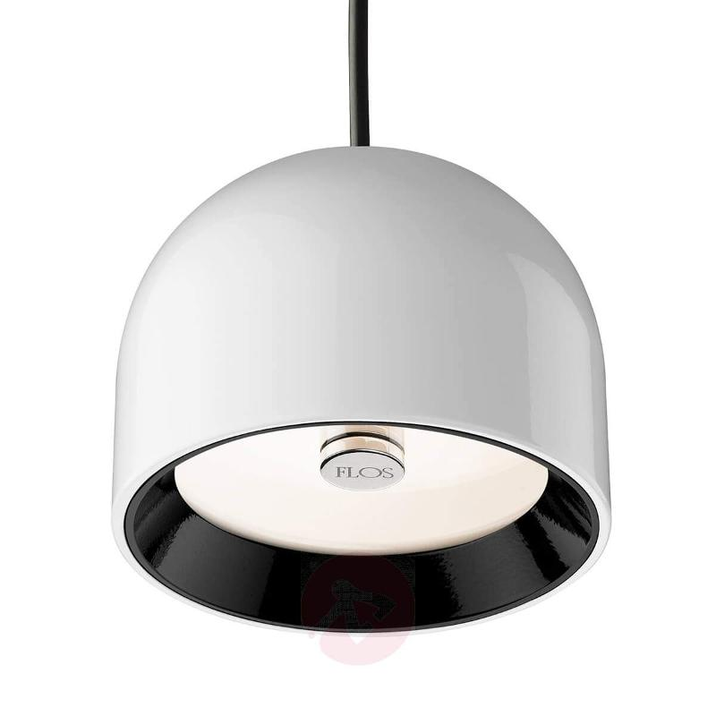 WAN S - Pendant Lamp by FLOS, white - Pendant Lighting