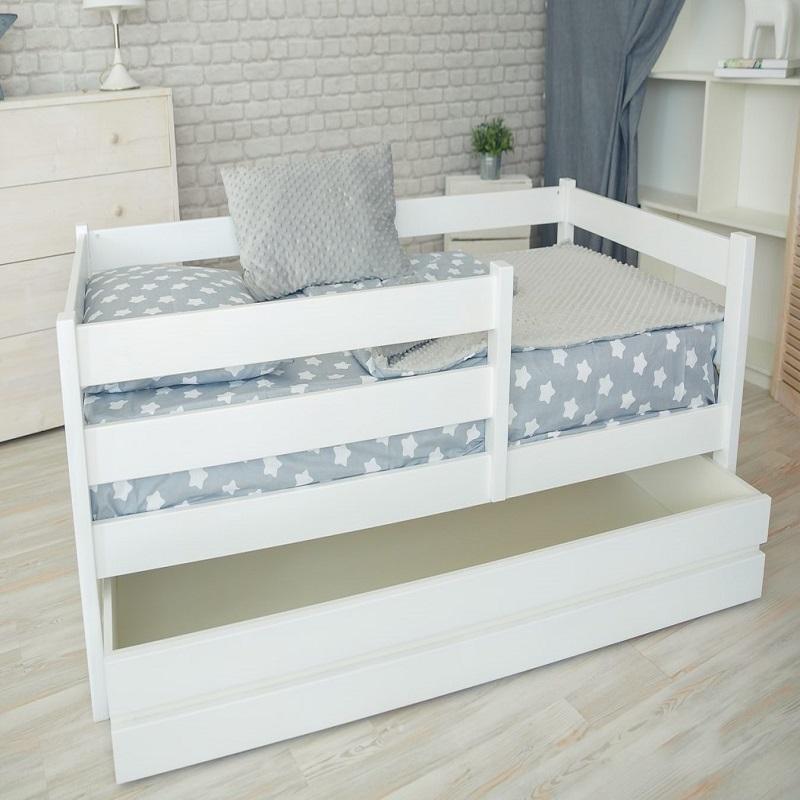 Кроватка-манеж с ящиком -