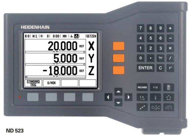 ND500  二三轴简单数显装置 - ND 500系列 海德汉 二轴和三轴简单数显装置