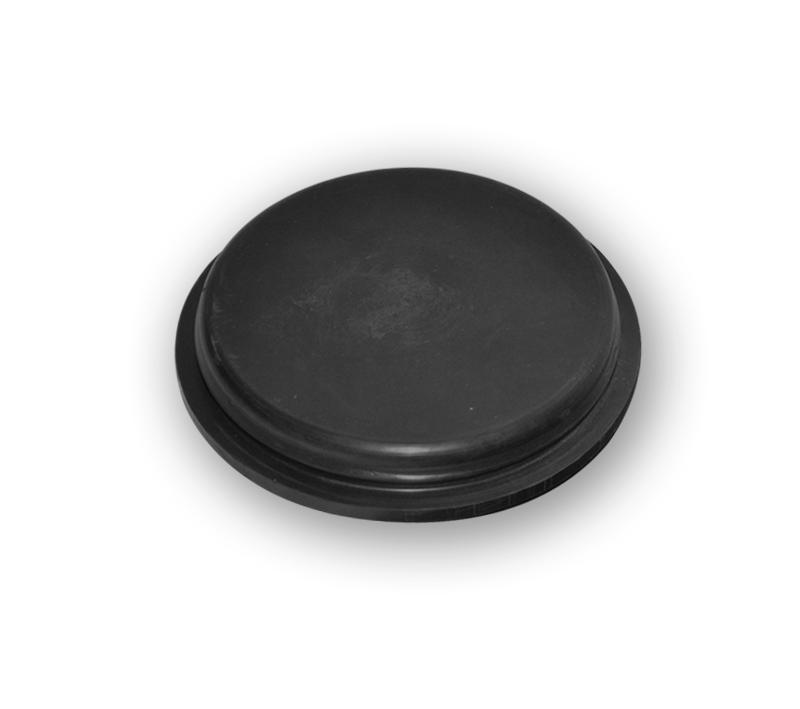 Rubber inspection caps in Natural Rubber (NR) - null