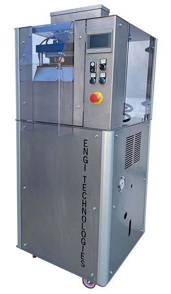 machine de galette de riz céréales  - machines pour fabrications chips de céréales sans friture vegan