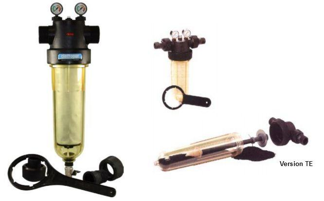 FIltres à liquides  - Avec préfiltration centrifuge