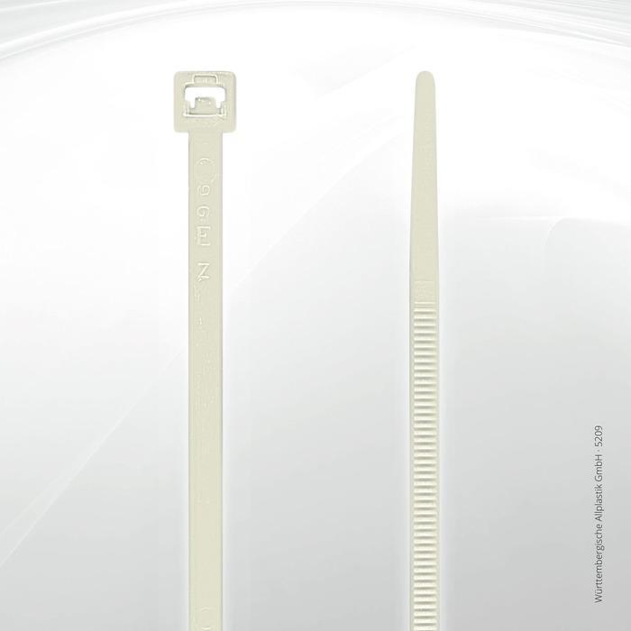 Allplastik-Kabelbinder® cable ties, standard - 5209 C (natural)