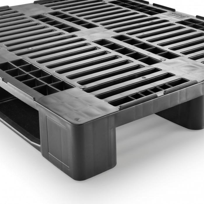 H3 ESD - Paleta de plástico, Palets industriales, Paletas ESD, Paletas conductible