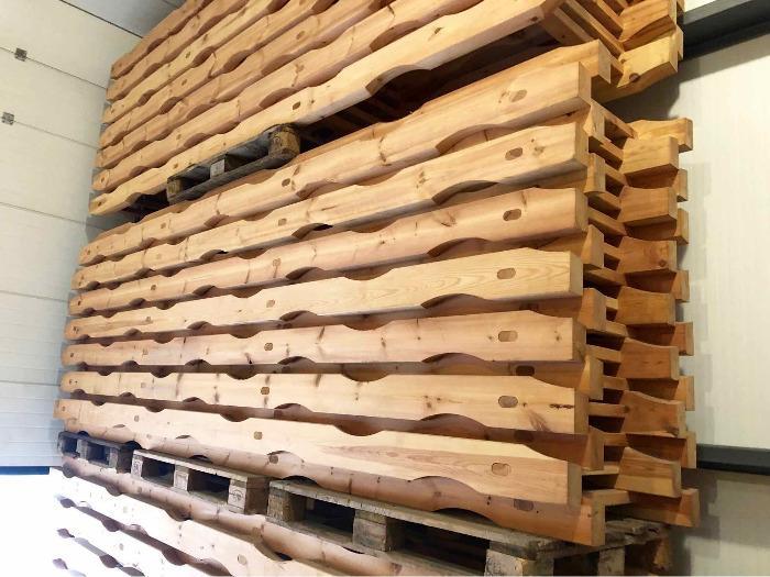 Supporti di legno per barili - Legno eco Francia