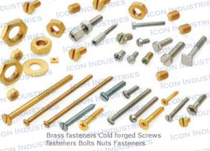 Brass Screw Bolt Nuts