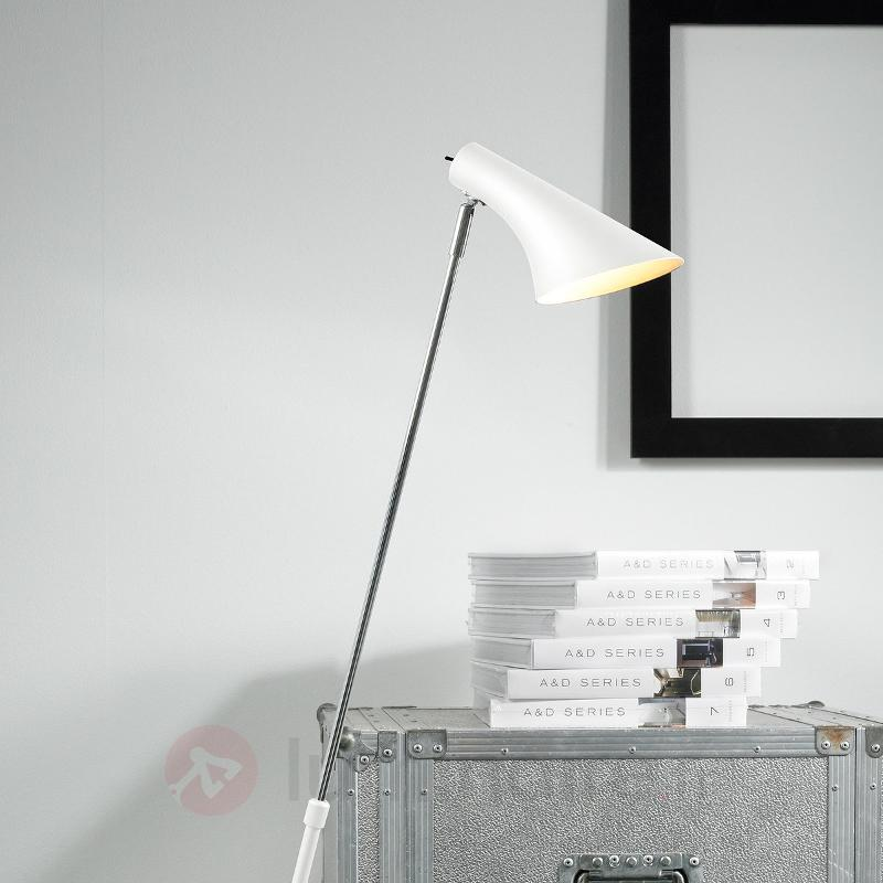 Lampadaire élégant et flexible Liam blanc - Tous les lampadaires