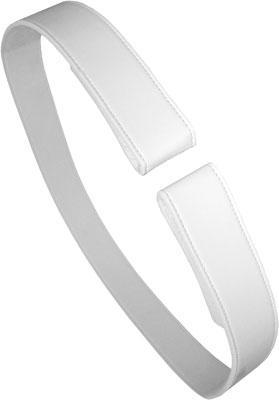 Suits Accessories - 45MM WHITE VINYL VELCRO DRESS UNIFORM BELT
