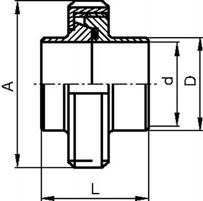 RACCORD COMPLET À SOUDER INOX 304 - 316 L (62111)