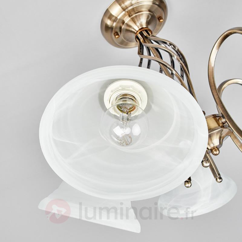 Mialina - plafonnier à cinq lampes - Plafonniers classiques, antiques