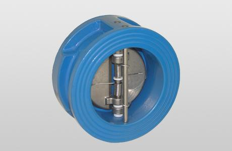 Double-flap non-return valve DFC. - Body: GGG-25 - flap: 1.4408