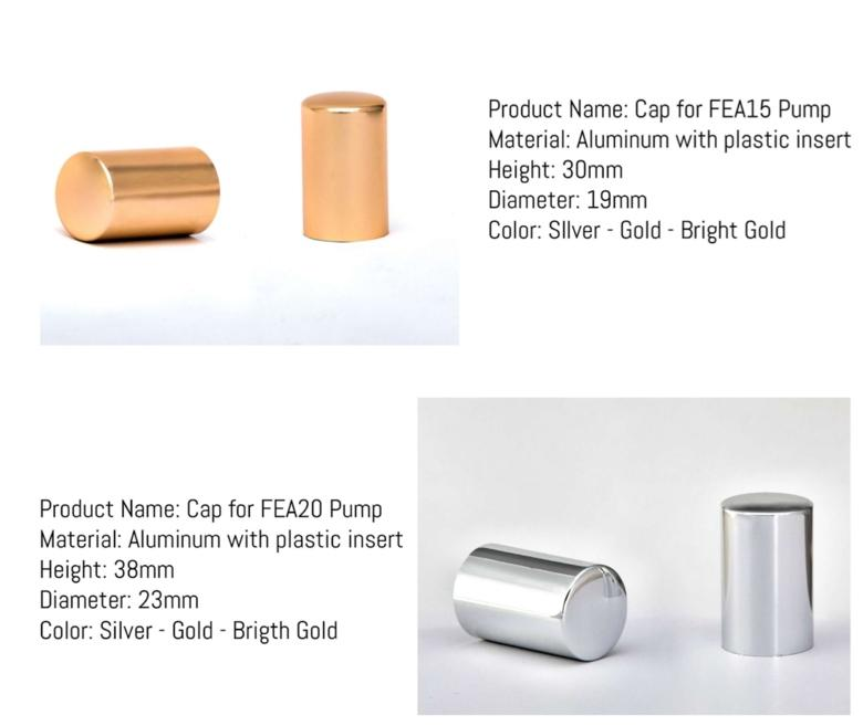 Tappi Alluminio per Pompe FEA 15 -