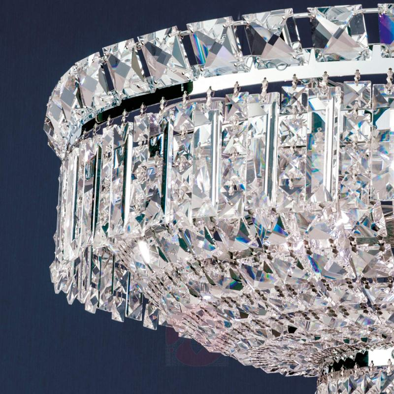 Extending crystalhanging lamp Ambassador - design-hotel-lighting