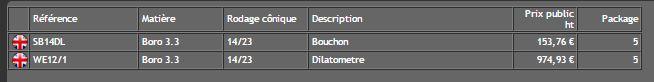 Dilatometre  - QUICKFIT