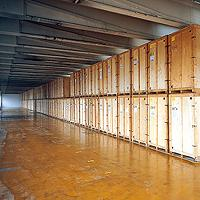 Storage facilities - Worldwide storage capacity of 171,437 m2