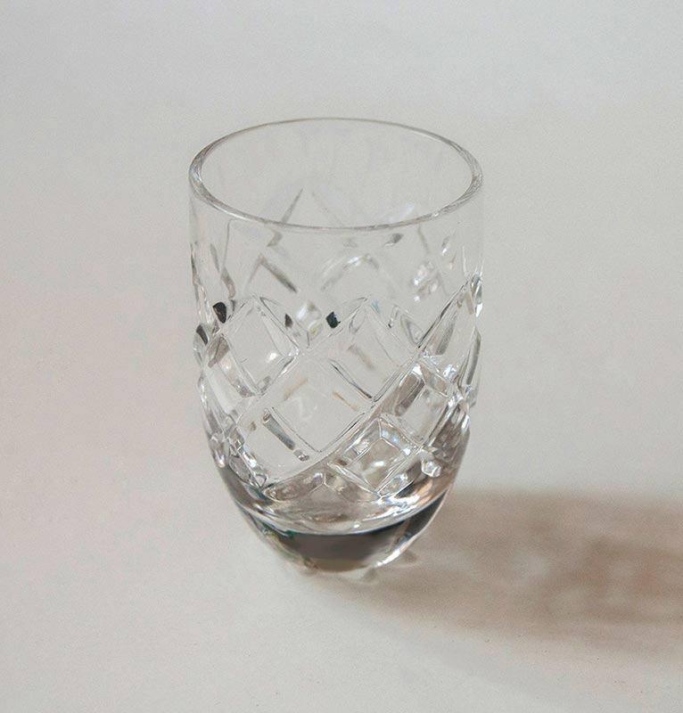 Crystal glass, 6 pc, 'SUNNY BUNNY' - crystal glass