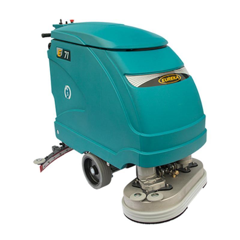 Fregadora industrial Eureka E71 de conductor a pie - Fregadora industrial de hombre a pie. Puede ser equipada con sistema ECO.