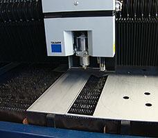 CNC laser cutting and CNC press braking - null