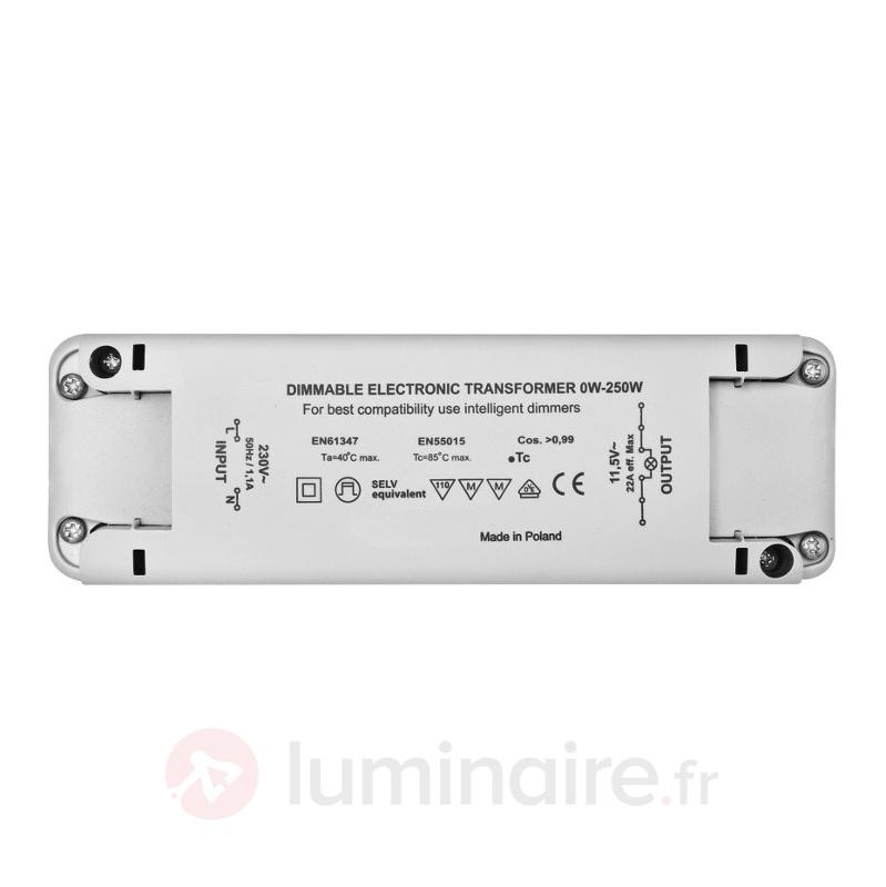 Transformateur électronique basse-tension 0 à 250W - Transformateurs