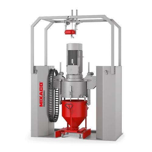 MIXACO Container Mixer Vortex™ - MIXACO Container Mixer Vortex: perfect heating of the mixed material