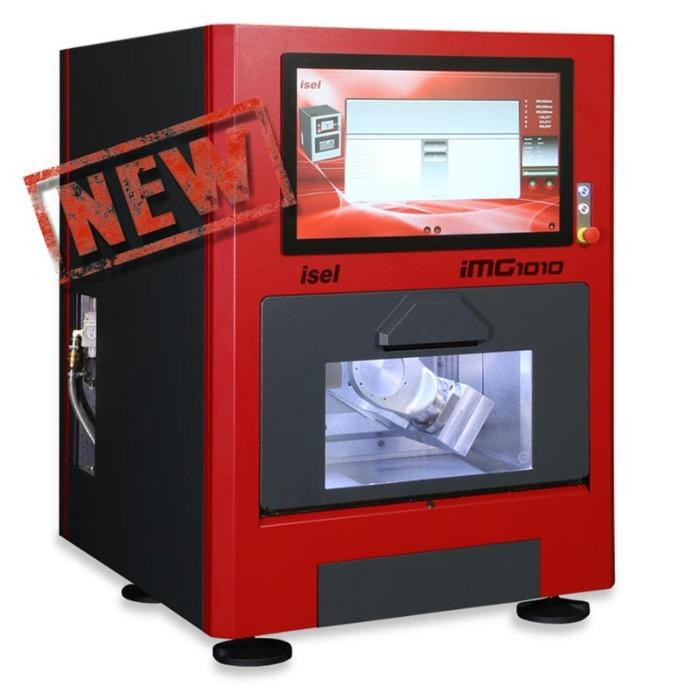 SERIES iMG 1010 CNC MILLING MACHINE - Ideal for precision mechanics and precision parts up to 10 cm