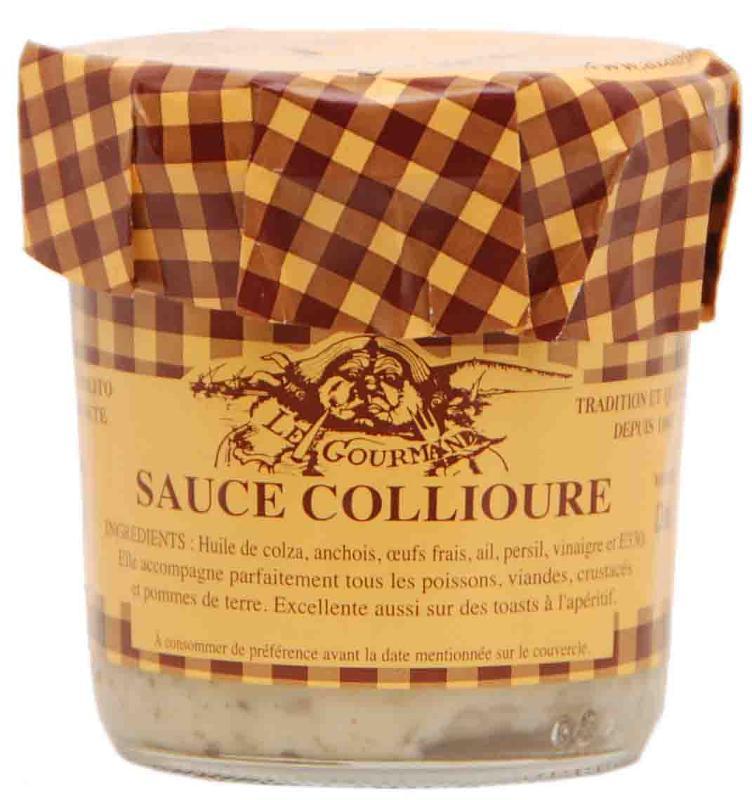 Sauce Collioure 4/4 - Epicerie salée