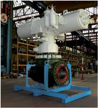 "Subsea Dn 16"" ANSI 900 with Hydraulic Actuator - Pressure Vessel"