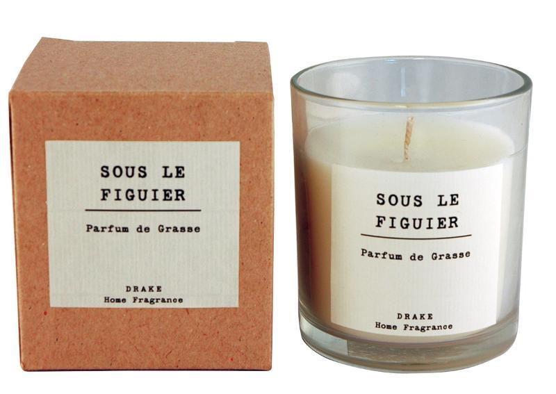 BOUGIE PARFUMÉE - SOUS LE FIGUIER - Collection Vintage 100% Végétale