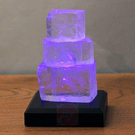 Halite Tower battery-powered LED table lamp - null