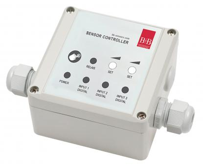 Universal switching module with two-point controller 230 VAC - Humidity switching devices/ controllers